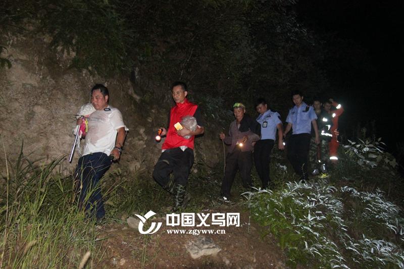 【十八力】5小时、6支队伍、100余人 义乌这场深夜搜救让村民平安回家