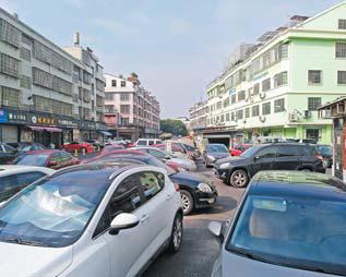今日观察 义乌柳青区块停车:怎一个乱字了得