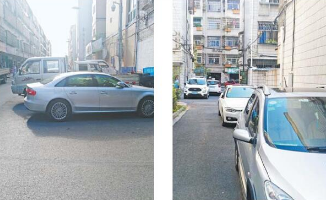 今日观察 鹏城小区:停车难成居民烦心事