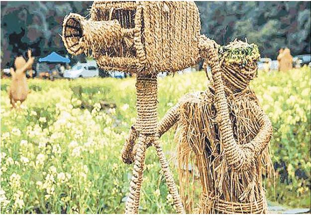 义乌首届农民丰收节暨西田稻草人热气球文化节即将开幕