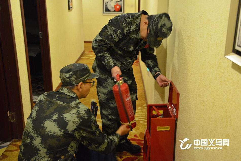 推进微型消防站建设工作 义乌消防开展娱乐场所专项检查