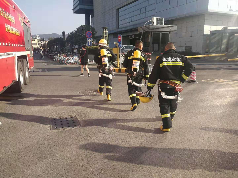 第十四期 商城宾馆安保部消防业务经理吴�F军谈消防安全工作