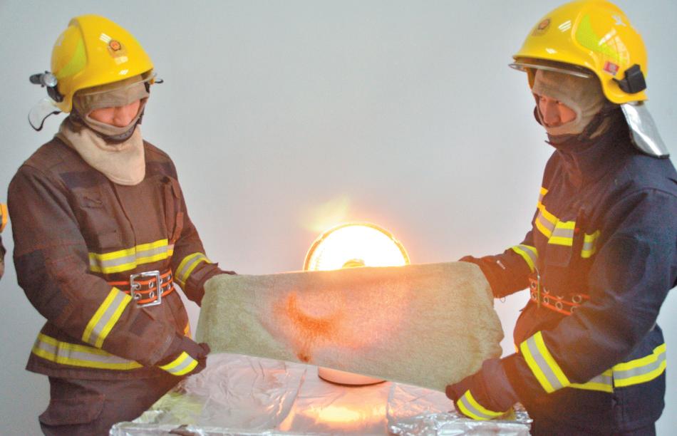 纸巾、靠垫、打火机靠近电暖器会发生什么?义乌消防告诉你