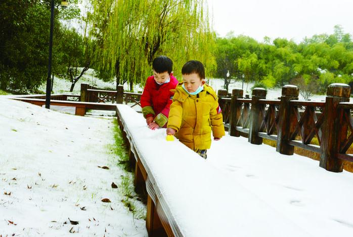 义乌市民被雪景刷屏