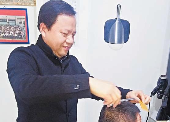 """40年40人(24)吴福庆:说说""""剃头""""那些事儿"""