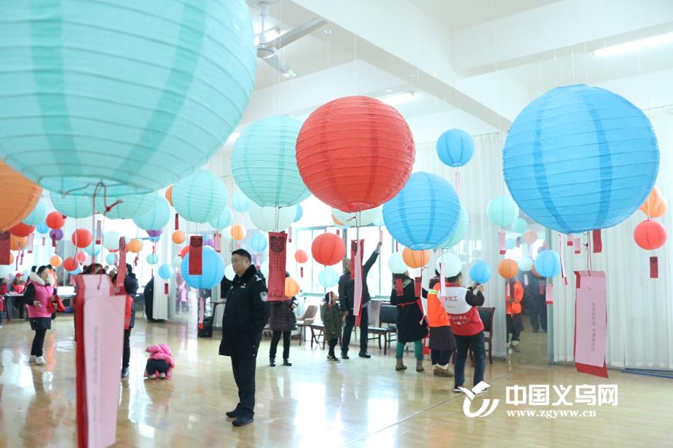 猜灯谜 吃汤圆 义乌锦都社区有一场温暖的元宵活动