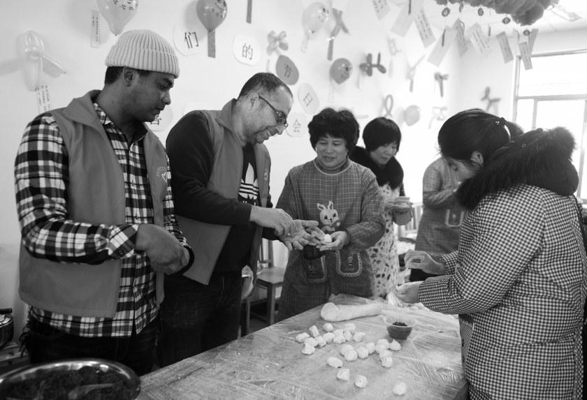 来自埃及的OLA: 我在义乌第一次做汤圆