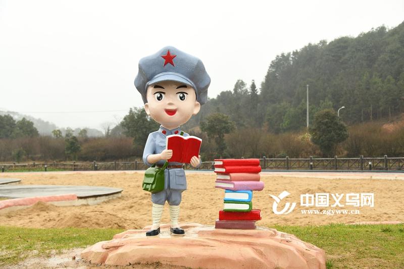 """义乌""""小红军""""党建元素点亮和美乡村精品线"""