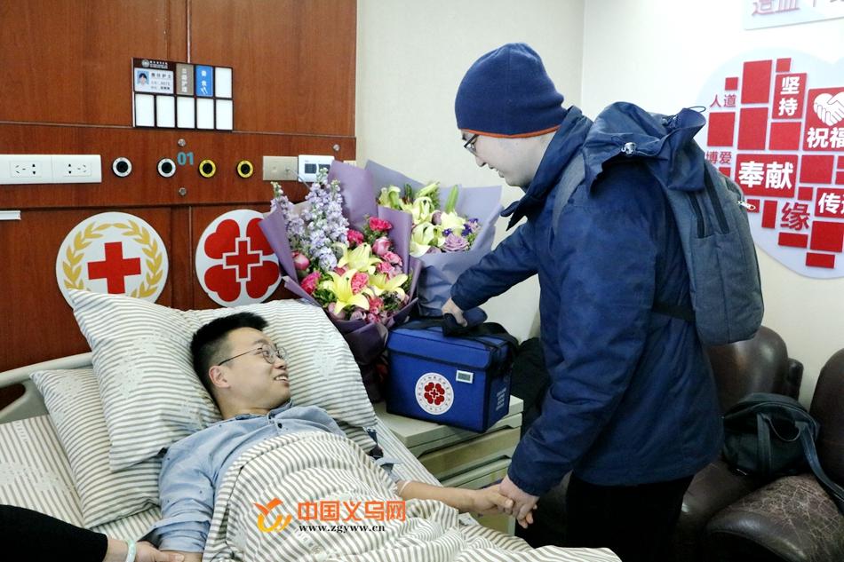 """【十八力】义乌帅小伙捐献造血干细胞 """"亲爱的陌生人 希望你早日康复!"""""""