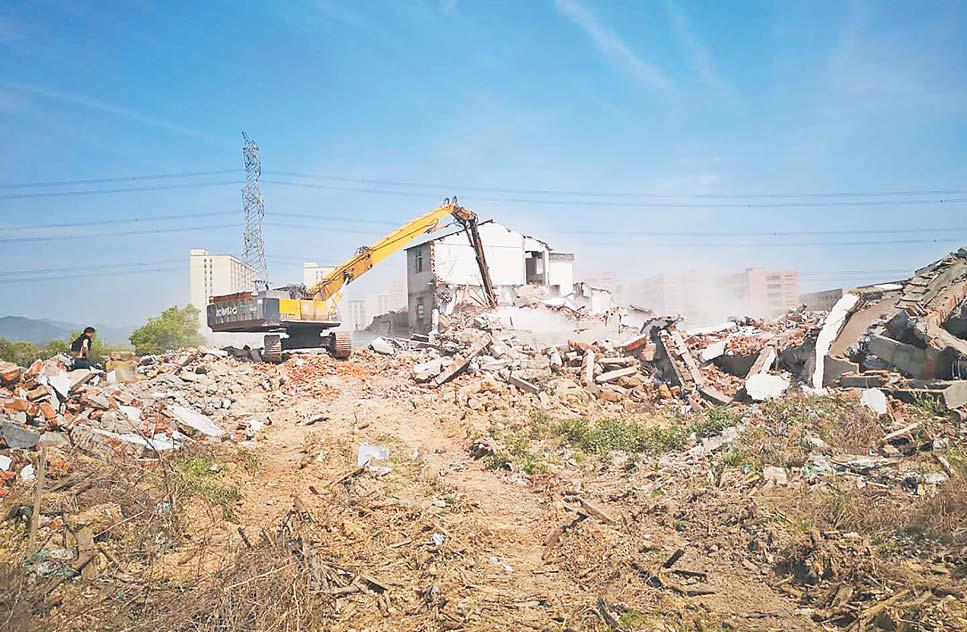 廿三里钱塘村整村拆除 助力发展