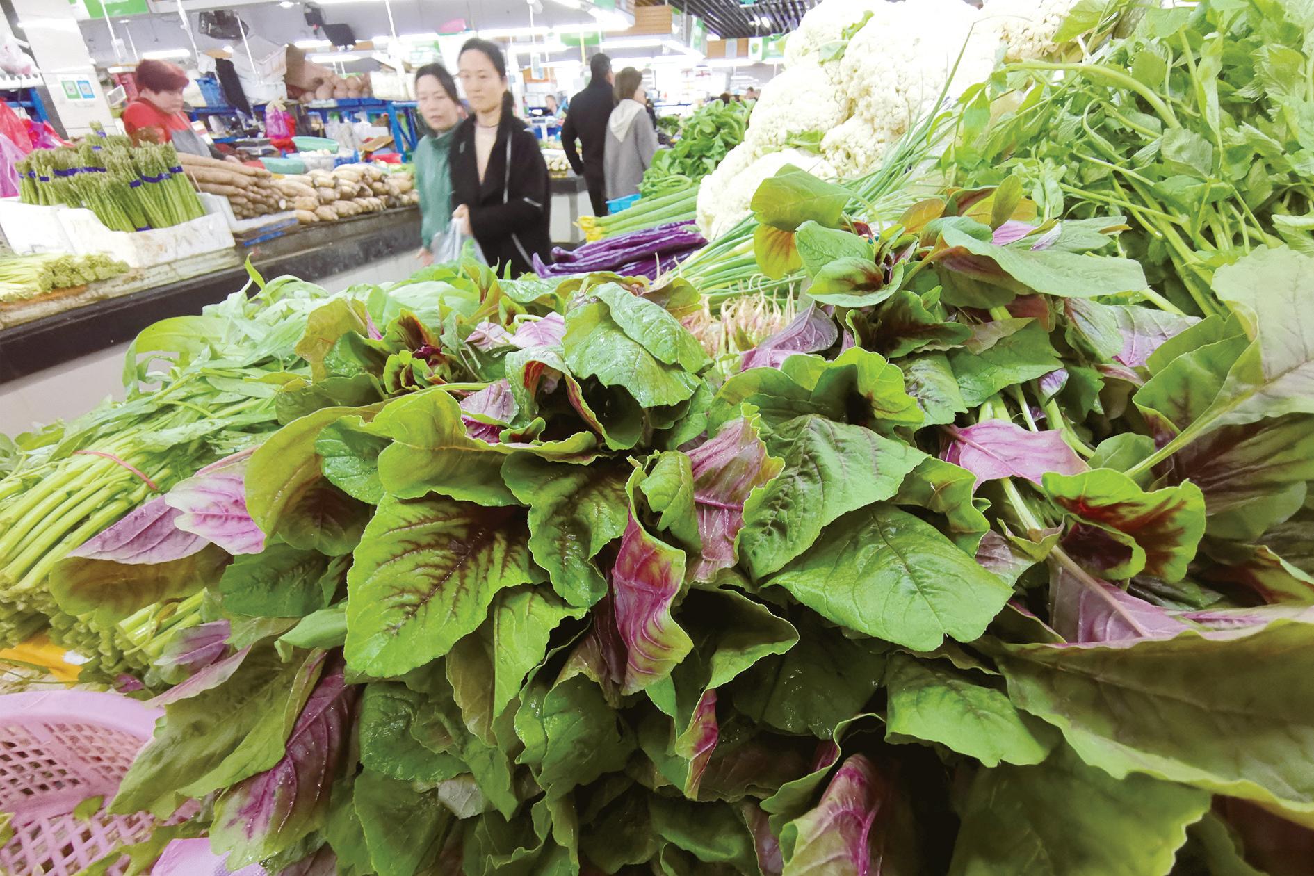 義烏:菜價穩中偏漲