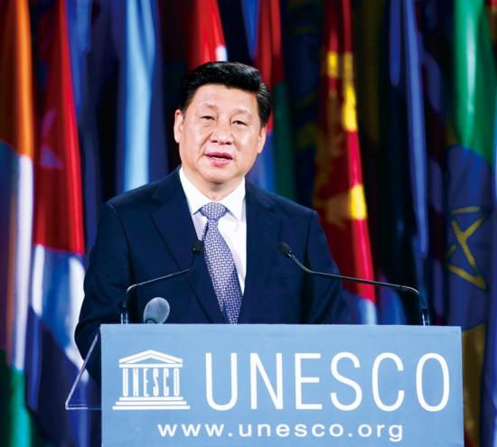 习近平:文明交流互鉴是推动人类文明进步和世界和平发展的重要动力