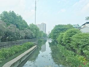 《义乌城南河河面发现大量油污》追踪 整改提升方案已提出