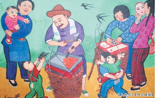 义乌农民画:画出乡土风貌 散发泥土芳香