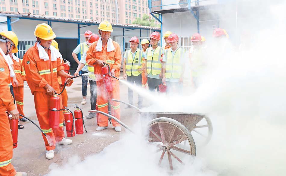 义乌:安全生产应急演练