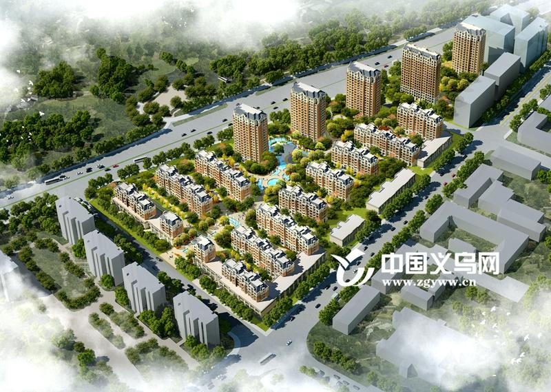 义乌苏溪又启动一有机更新区块 镇区新门面迎来新气象