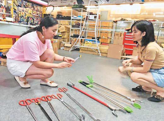 义乌:个性垃圾夹畅销