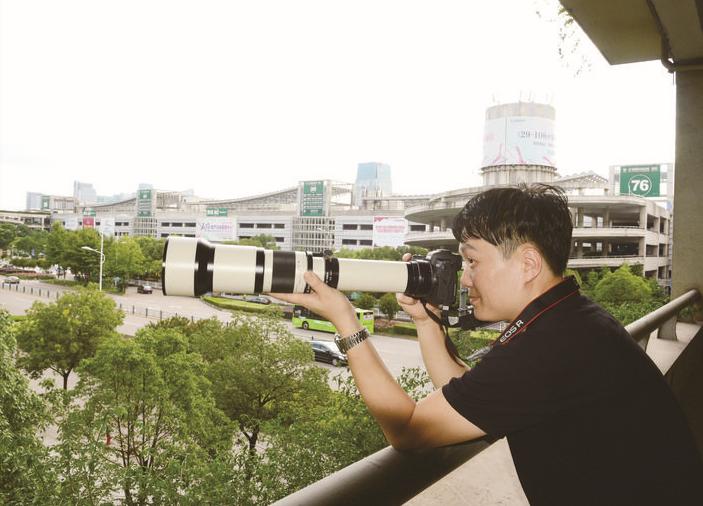 韩国摄影师赵亮相:因为义乌,爱上摄影