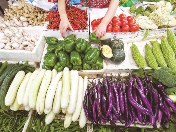 義烏:蔬菜供應充足
