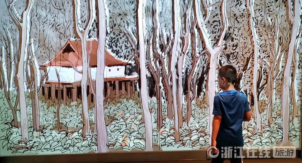 从学龄儿童到耄耋老人 浙江美术馆十周年展圈粉无数