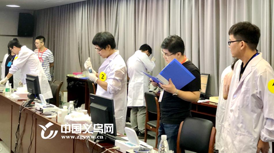 """让""""农田到餐桌""""吃的放心 义乌举行2019年农残快速检测技能比武"""