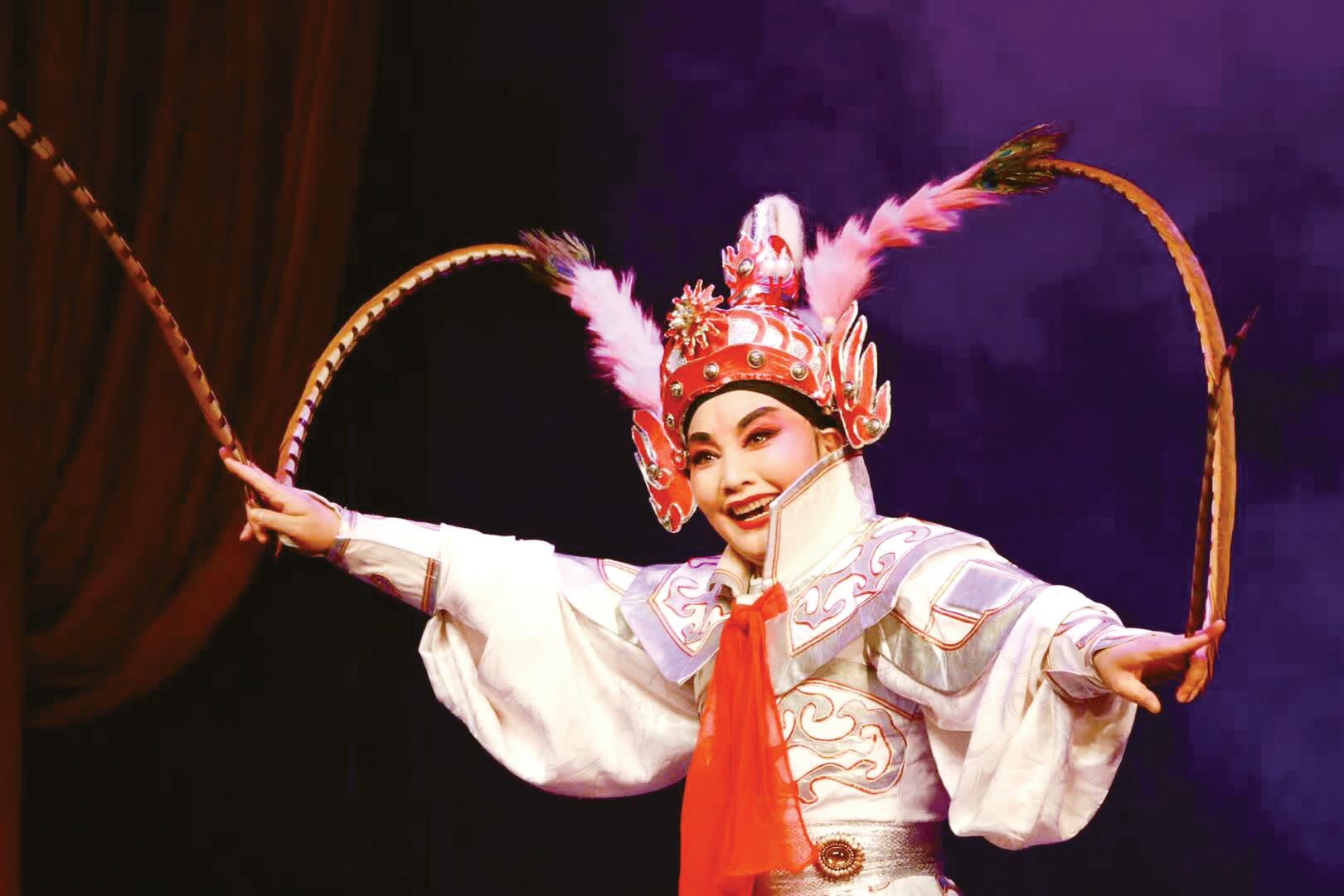 义乌婺剧团首位国家一级演员 楼巧珠和她的婺剧人生