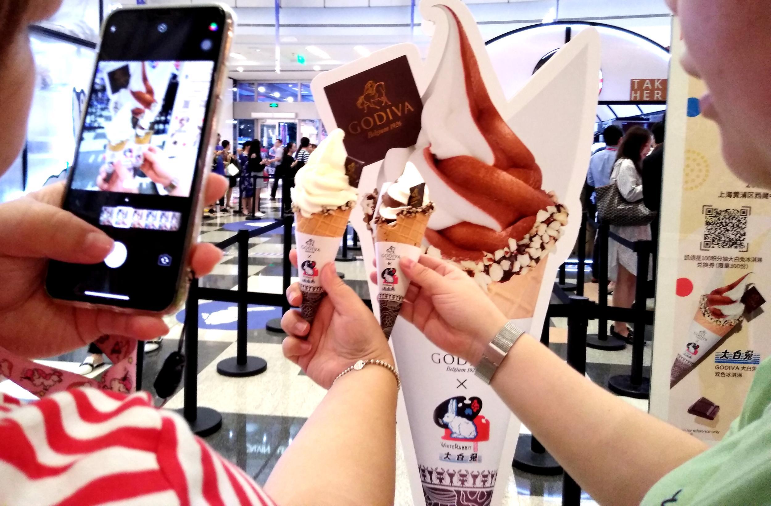 """""""大白兔""""推冰淇淋 情怀输给价格"""