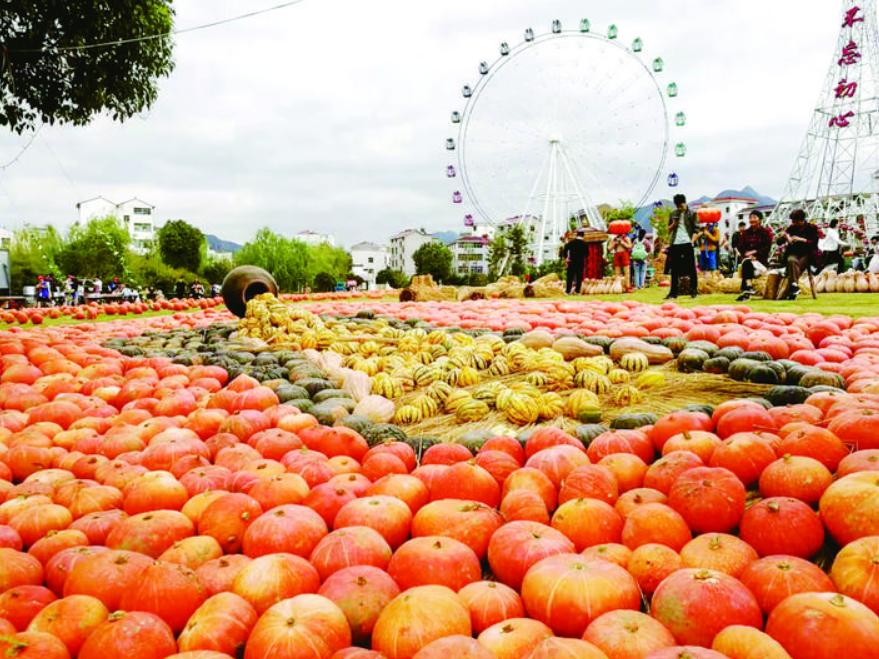 义乌市第二届农民丰收节现场,燃爆了!