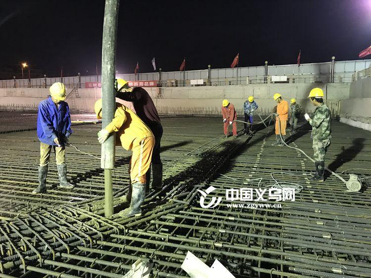 秦塘站主体结构完成75% 轻轨义乌段工程有序推进