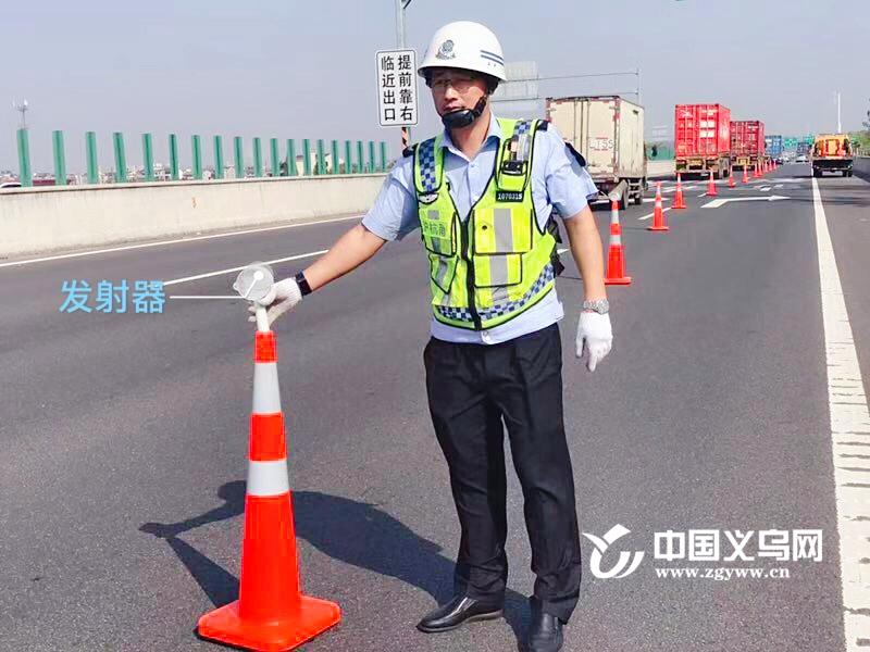 """甬金高速(金华段)自主研发""""倒桩报警系统"""" 上线"""