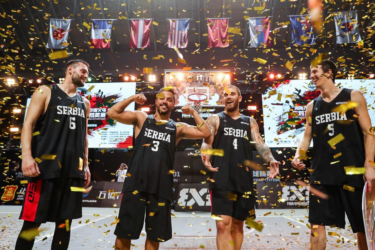 【震撼 刺激 精彩】2019中国义乌三对三国际篮球精英赛圆满落幕