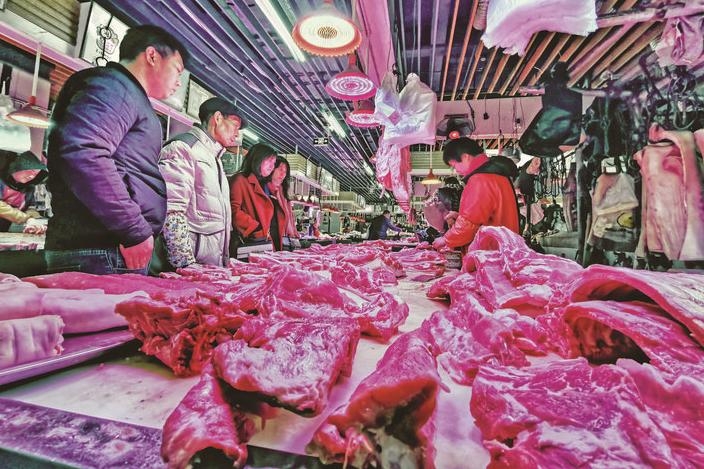 """猪肉价格仍处高点,经营户说――""""今年做香肠的人都少了"""""""