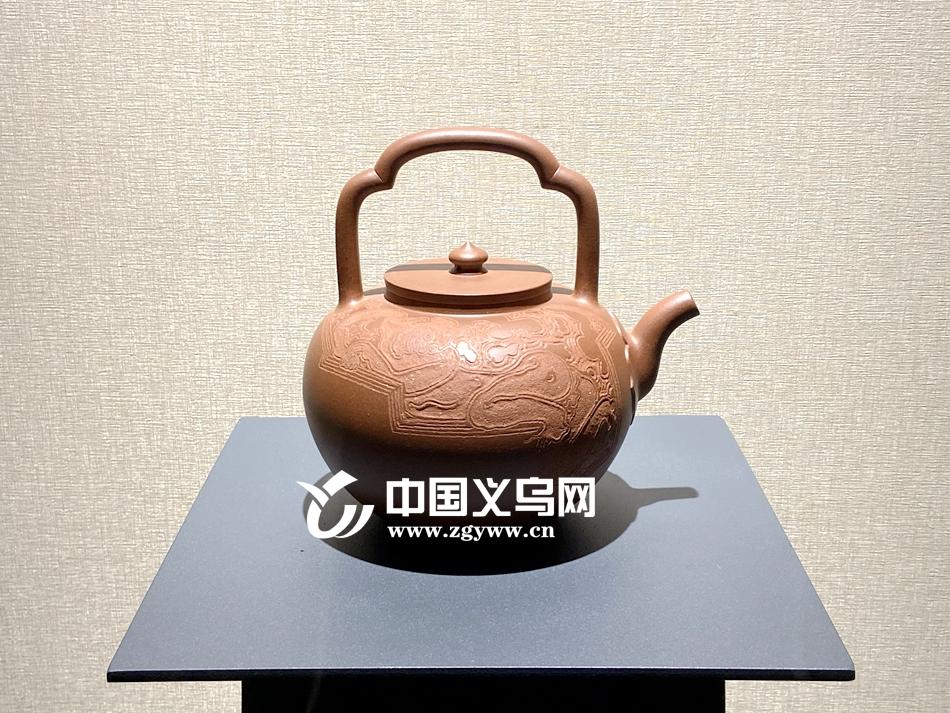 浙江首次新文人紫砂作品展在义乌开幕