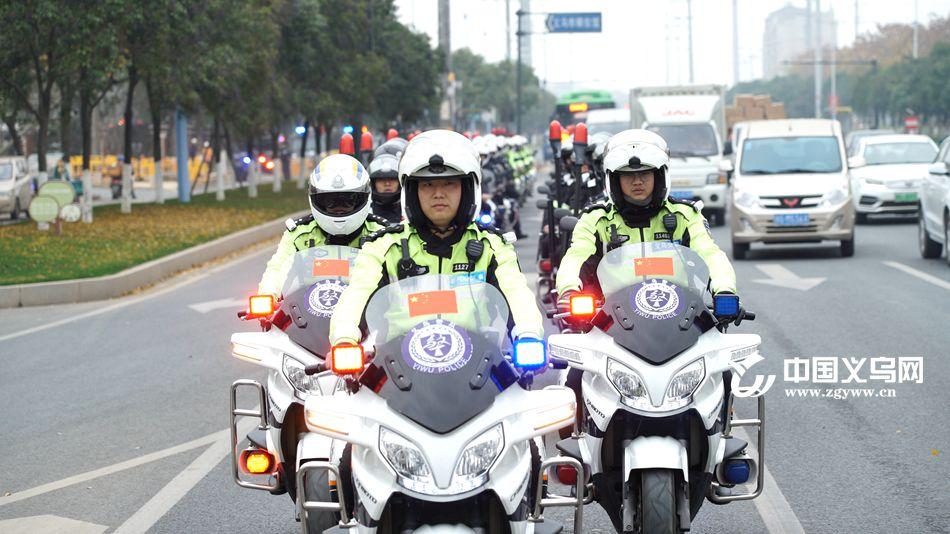 街头1000多警力保障社会稳定 义乌公安启动治安大巡防
