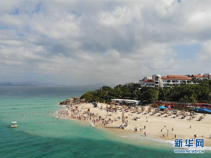 海南:冬季旅游热