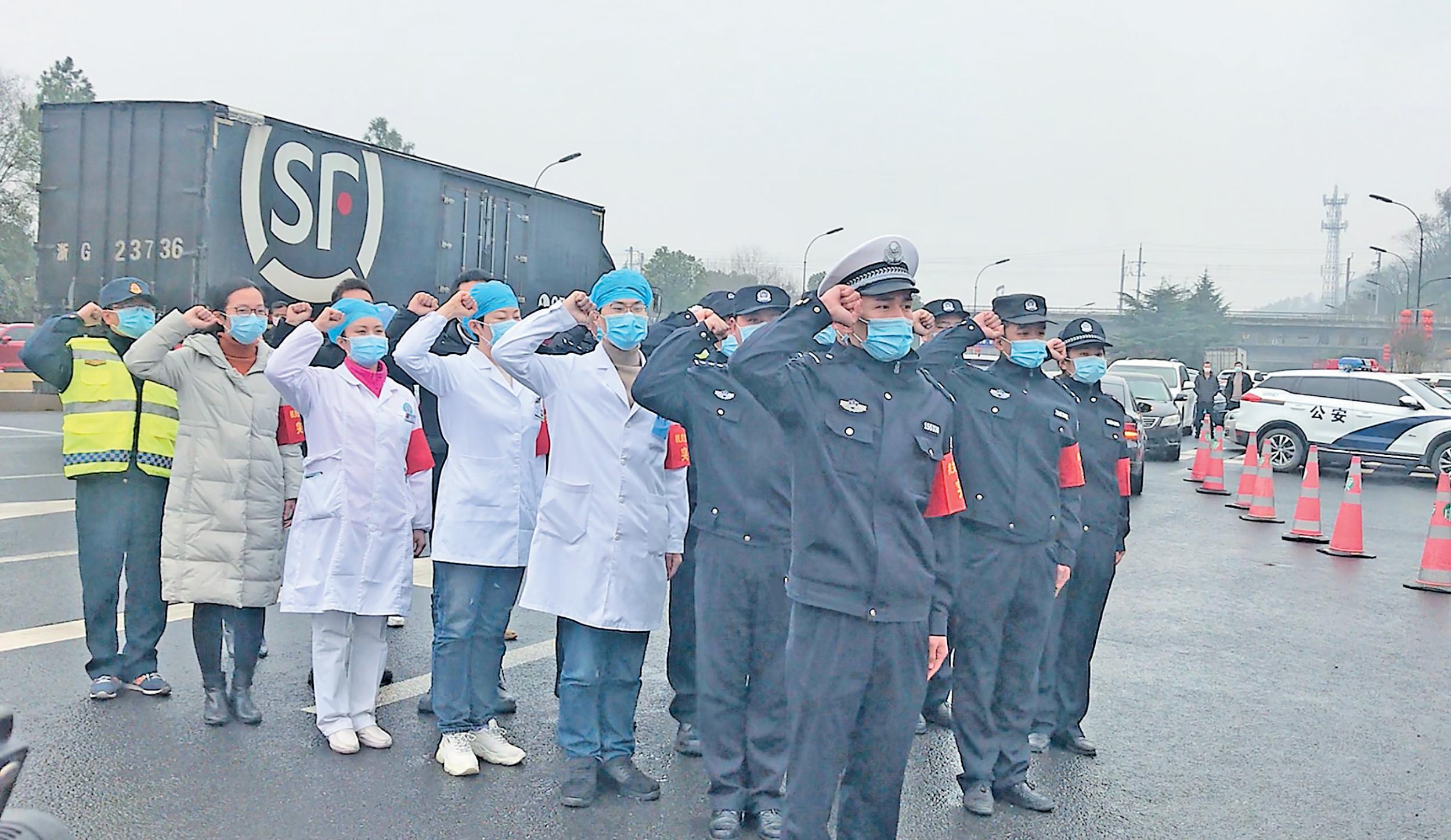 """义乌22名战""""疫""""一线勇士宣誓入党"""