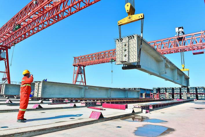 江东连接线工程正式复工