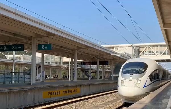 义乌首趟高铁复工专列抵达 近1000人将返岗