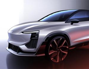 爱驰U6 ion设计图曝光 将于日内瓦车展全球首秀
