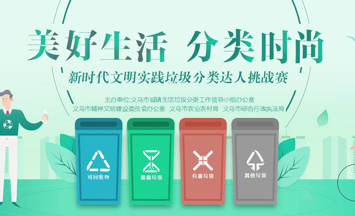 【专题】垃圾分类 义乌实践 一袋垃圾的奇妙之旅