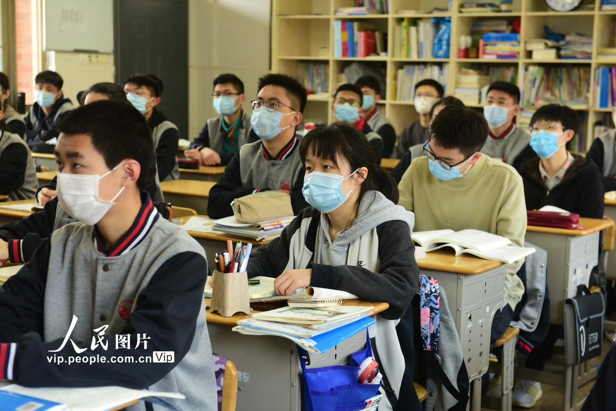 【人民日报】浙江义乌:开学第一课进行防疫教育