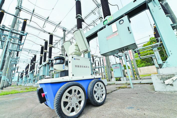 义乌:机器人巡检保供电