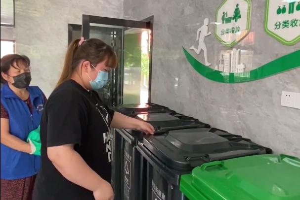 """分对垃圾还能获好评?义乌这个社区垃圾分类又出""""黑科技"""""""