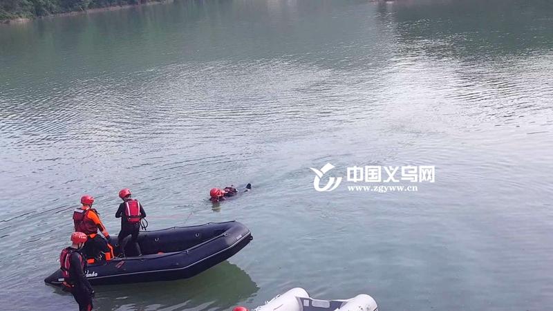义乌后宅街道联合市消防救援支队开展水上救援演练