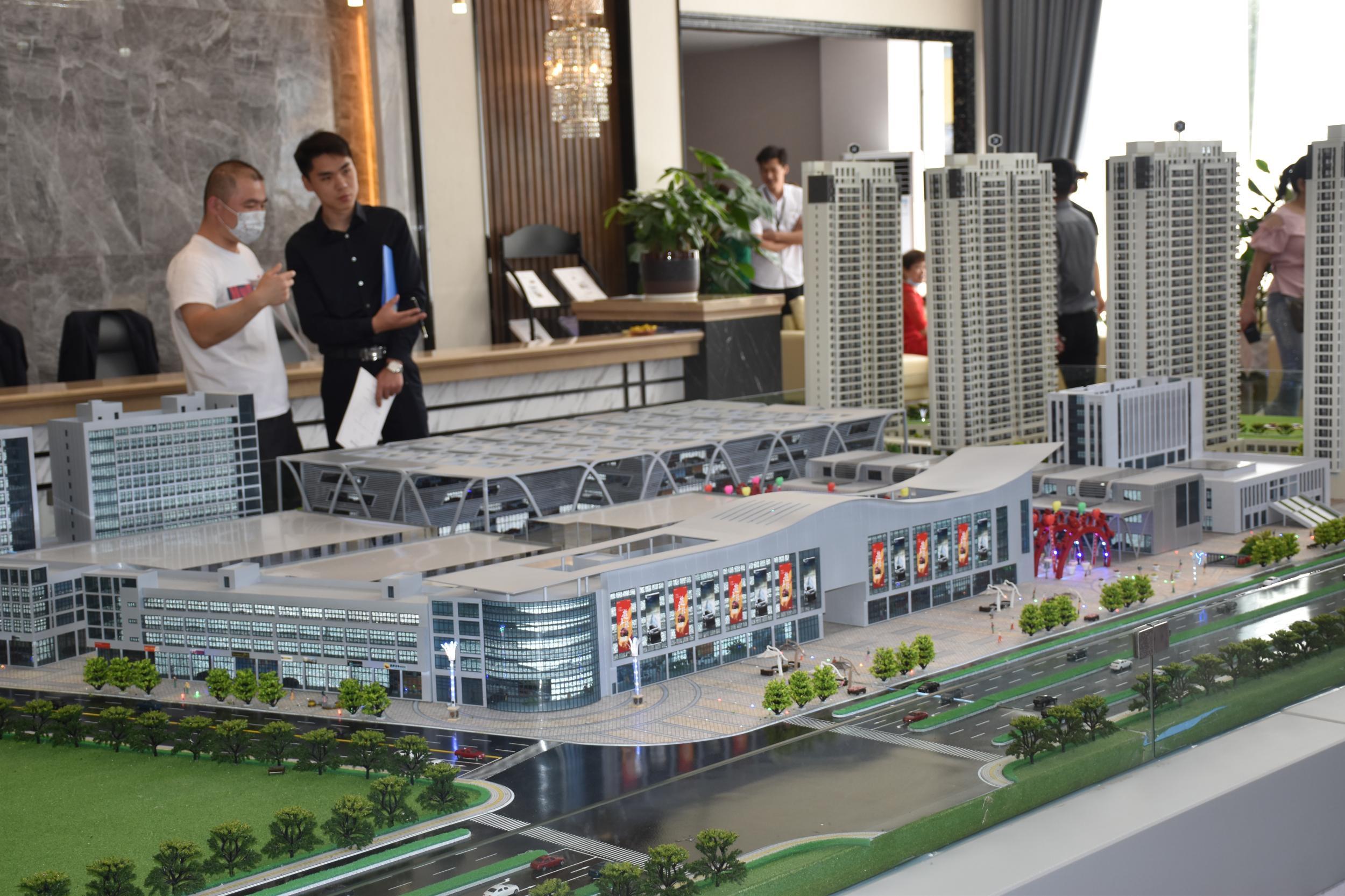 一个好市场毗邻一套好房子 辐射东义双城 成就人气红盘
