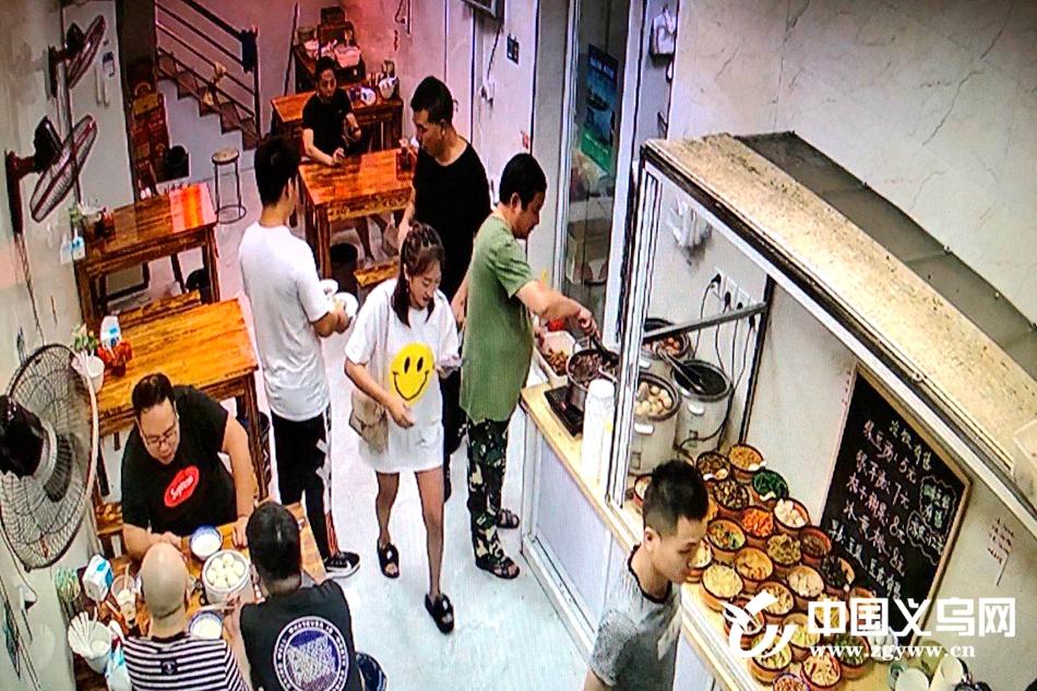 【十八力】姑娘,你真美!义乌市民悄悄为台风救灾消防员的夜宵买单