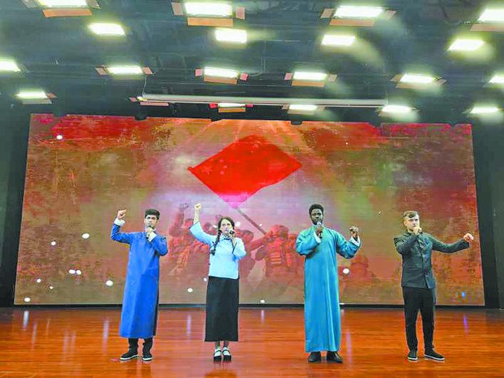 """义乌留学生""""朗读中国""""晋级国赛"""