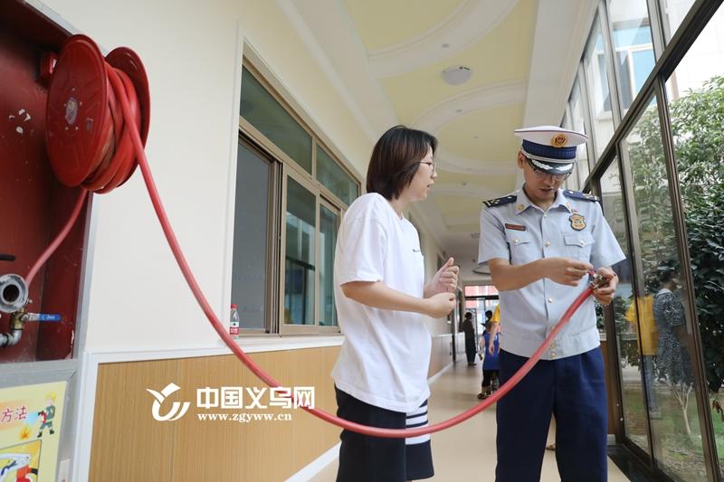 义乌部分新办学校存在消防安全隐患