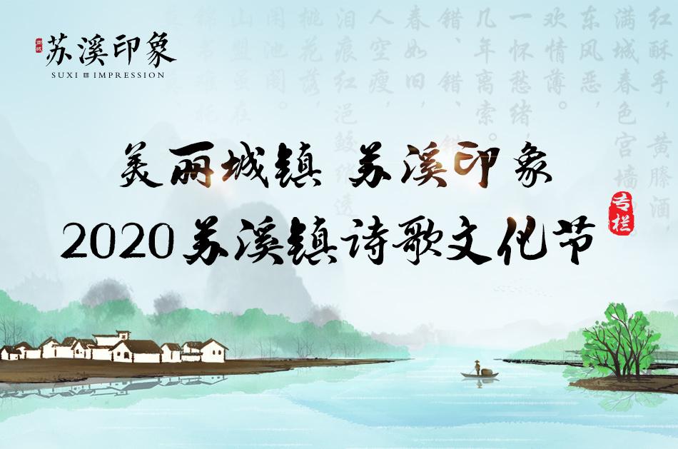 美丽城镇 苏溪印象 2020苏溪镇诗歌文化节
