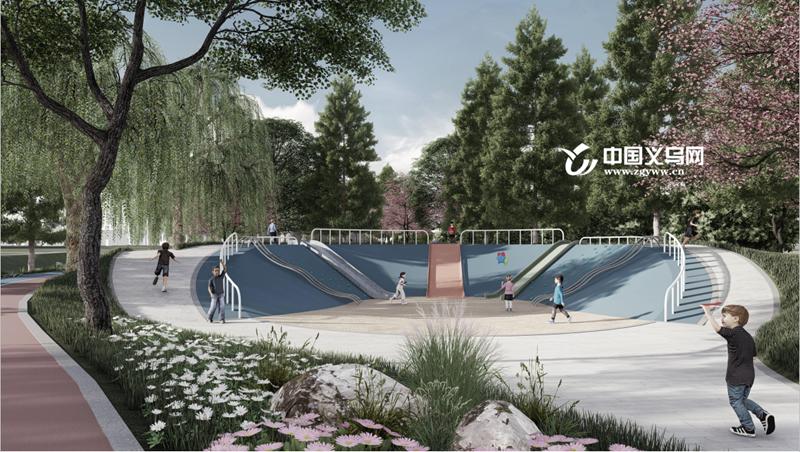 年底完工!义乌又将新增一座特色公园